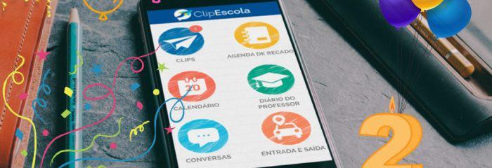 Em dois anos de ClipEscola, meio milhão de motivos para comemorar