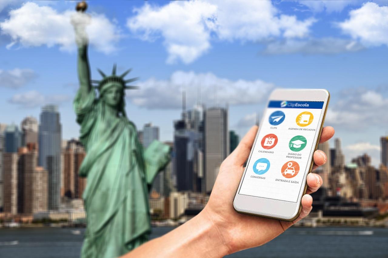Quais as vantagens do aplicativo de comunicação para escolas de idiomas?