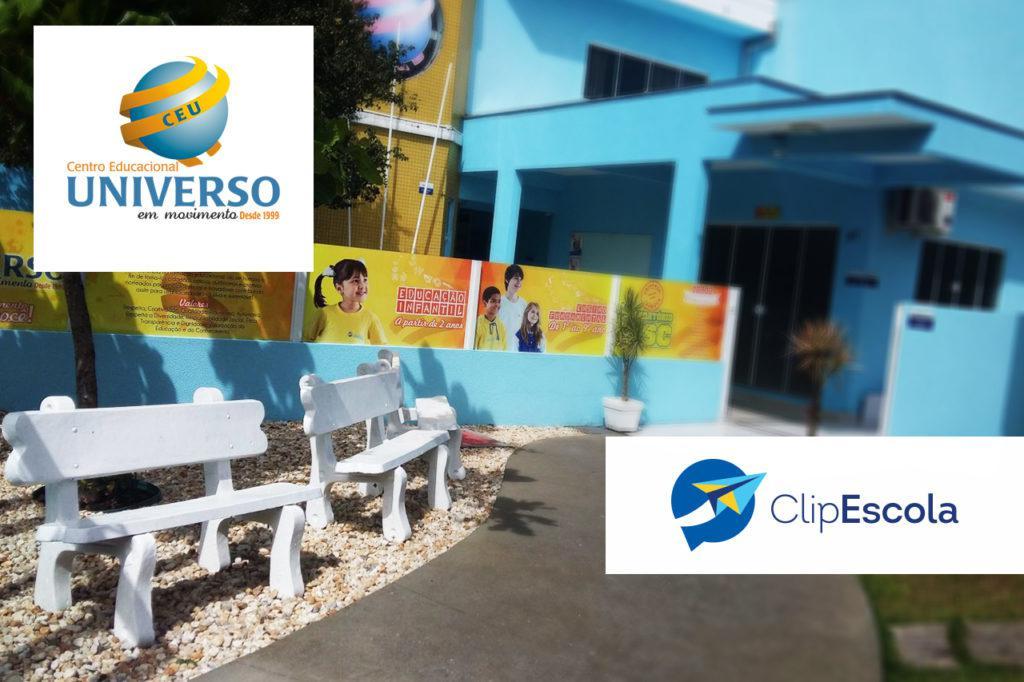 Case Centro Educacional Universo - Agenda Digital ClipEscola