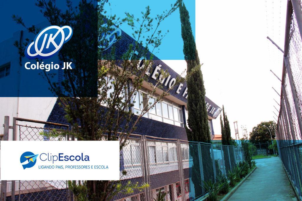 Case Colégio JK - Agenda Digital ClipEscola