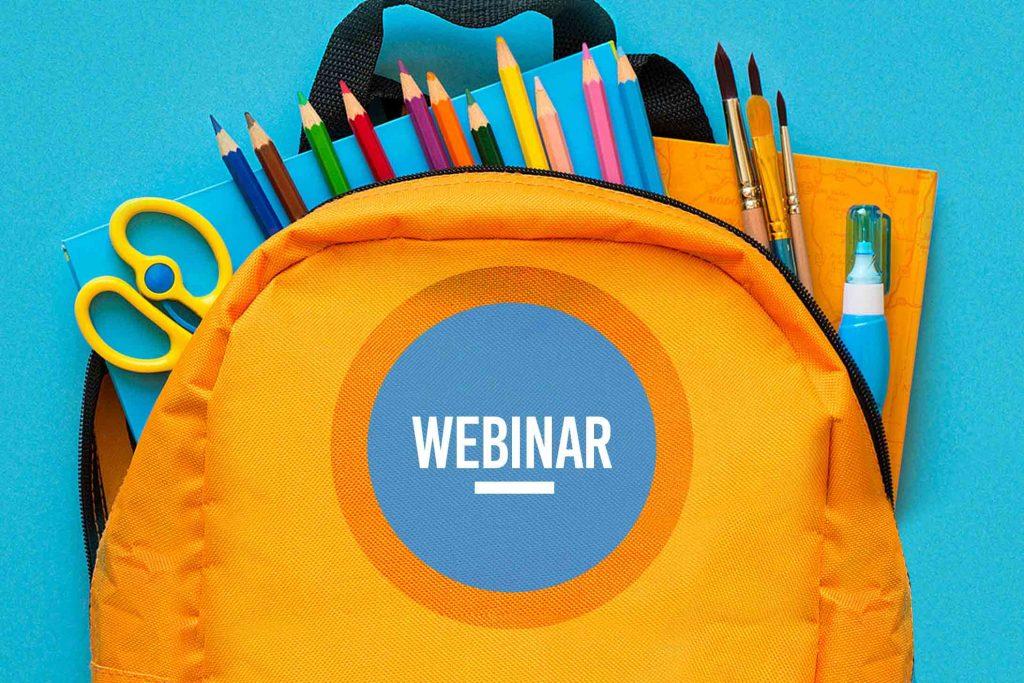 Webinar - A educação não pode parar - Como adaptar a rotina escolar a distância durante a quarentena