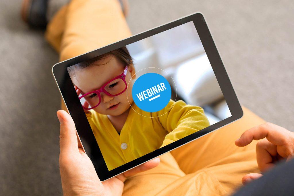 Mockup - Webinar - Saúde Emocional Educação Infantil EaD