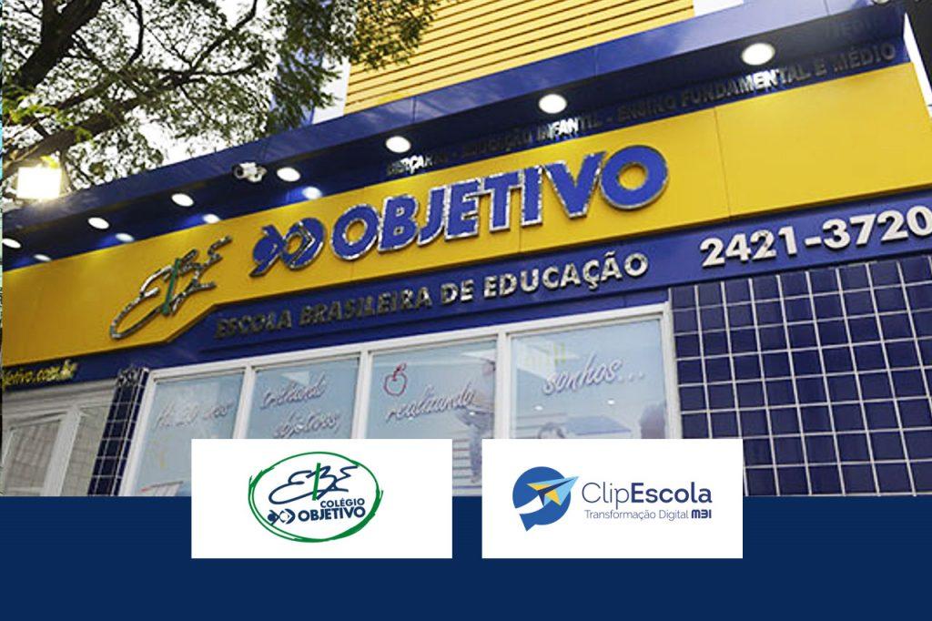 Case de Sucesso ClipEscola - Colégio EBE Objetivo