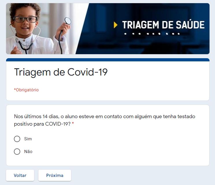 Triagem de Covid-19