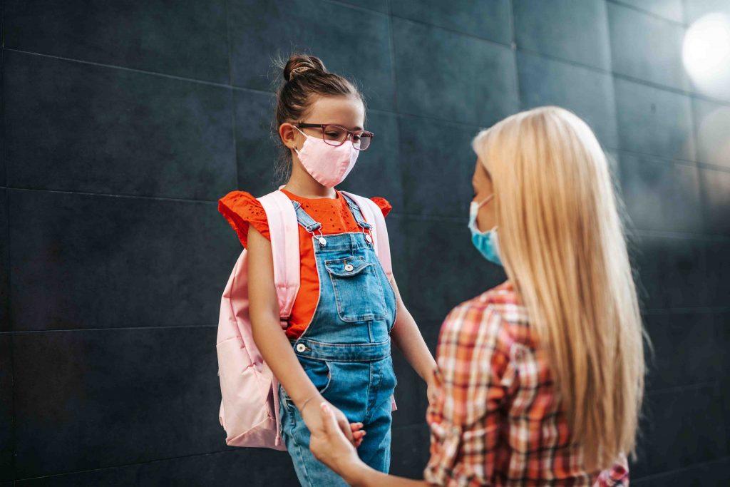Tranquilizar as famílias dos alunos para a volta às aulas