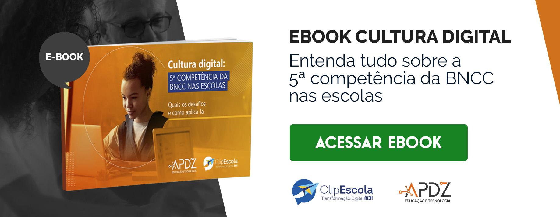 CTA_Ebook - Cultura Digital: 5ª Competência da BNCC nas Escolas