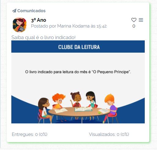 Clube da Leitura - ClipEscola