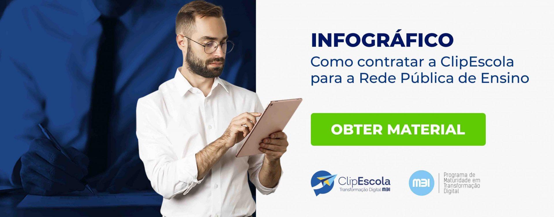 CTA_Infográfico - Como contratar a ClipEscola para a rede pública de ensino