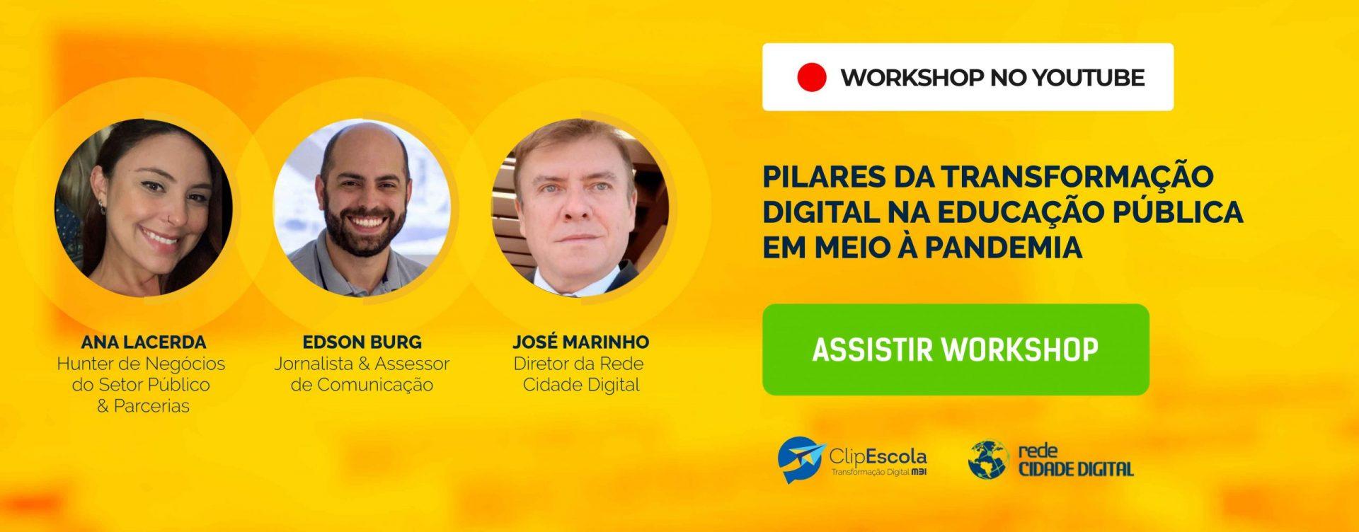 CTA_Workshop - Pilares da transformação digital na educação pública em meio à pandemia